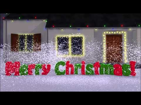 3d Christmas Card