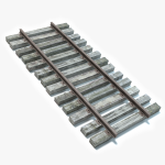 3d Railroad Track