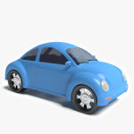 3d Cartoon Car