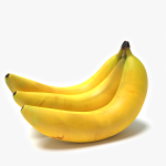 3d Bananas Model