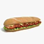 3d Sub Sandwich Model