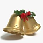 3d Christmas Bells