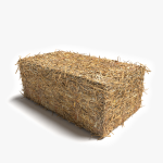 3d Hay Bale Rectangle