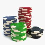 3d Poker Chips