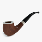 3d Tobacco Pipe