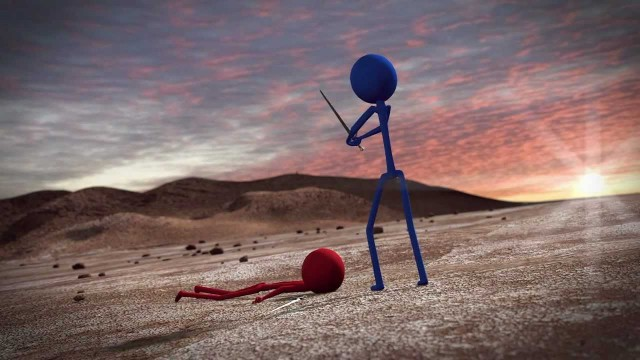 3d Stickman Sword Fight