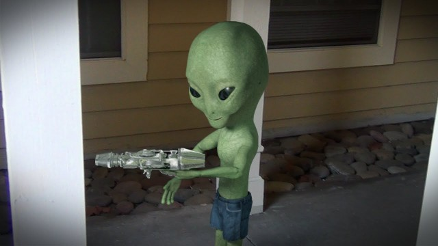 Alien With a Gun