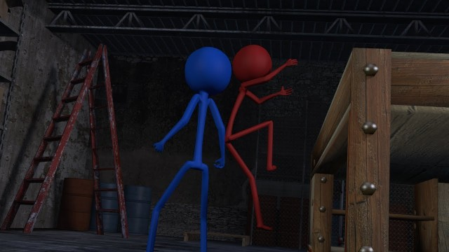 3d Stickman Fight 2