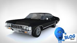 3d 1967 Chevy Impala