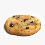 3d Chocolate Chip Cookie