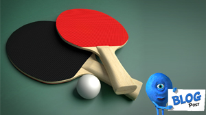 3d Ping Pong Paddles Model