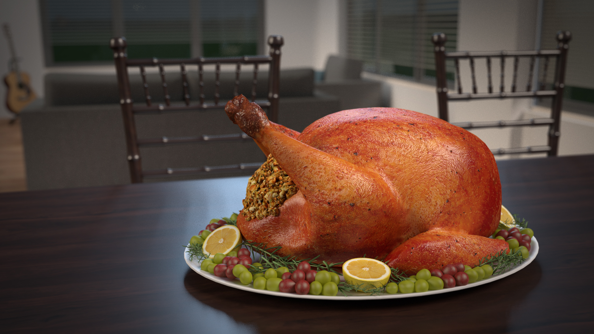 3d Thanksgiving Turkey