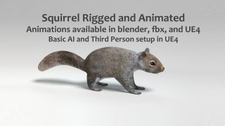UE4 Squirrel – Basic AI and Third Persion Setup