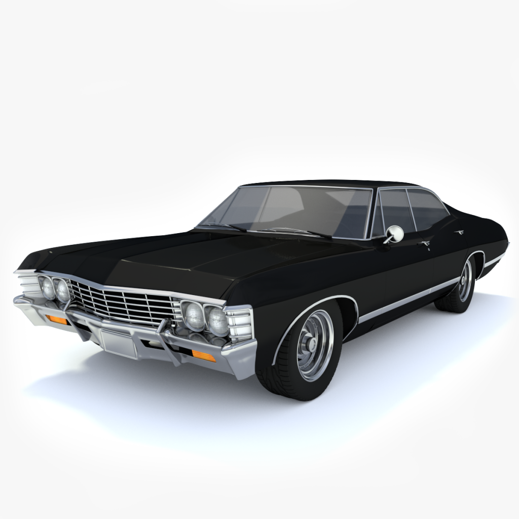 All Chevy 1967 chevrolet models : 3d 1967 Chevy Impala | Toon Life Studios